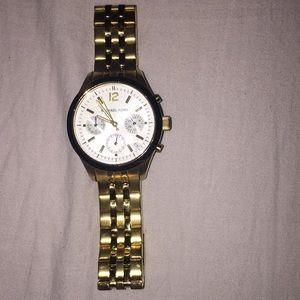 Michael kors gold watch FREE W $40&up